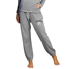 Officially Licensed Concepts Sport Ladies' Knit Jogger Pant-Steelers