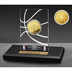 Officially Licensed Golden State Warriors 6x Champs Coin Desk Display