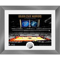 Officially Licensed Golden State Warriors Art Deco Coin Photo Mint