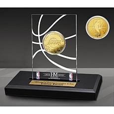Officially Licensed Los Angeles Lakers 17x Champs Coin Desktop Display