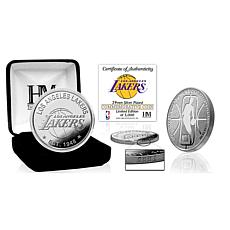 Officially Licensed Los Angeles Lakers Silver Mint Coin