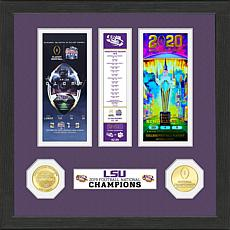Officially Licensed LSU 2019 Football Champions Ticket Collection