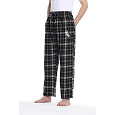 Officially Licensed Men's Flannel Pant by Concepts Sport-White Sox