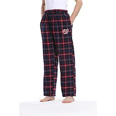 Officially Licensed Men's Flannel Pant by Concepts Sport - Nationals