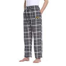 Officially Licensed Men's Plaid Flannel Pant by Concept Sports-Jaguars