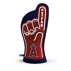 Officially Licensed MLB #1 Oven Mitt - Los Angeles Angels