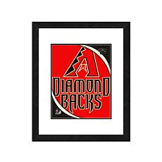 "Officially Licensed MLB 18"" x 22"" Framed Team Logo"