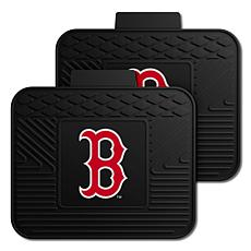 Officially Licensed MLB 2-Piece Utility Mat Set - Boston Red Sox