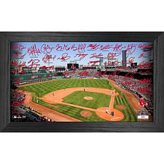 Officially Licensed MLB 2021 Signature Field Photo Frame - Boston