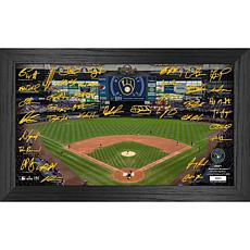 Officially Licensed MLB 2021 Signature Field Photo Frame - Milwaukee