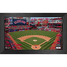 Officially Licensed MLB 2021 Signature Field Photo Frame - Cleveland