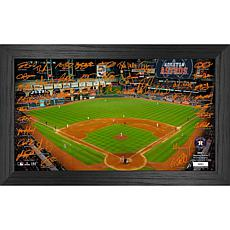 Officially Licensed MLB 2021 Signature Field Photo Frame - Houston