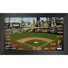 Officially Licensed MLB 2021 Signature Field Photo Frame - Pittsburgh