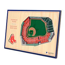 Officially-Licensed MLB 3-D StadiumViews Display - Boston Red Sox