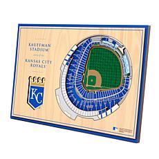 Officially-Licensed MLB 3-D StadiumViews Display - Kansas City Royals