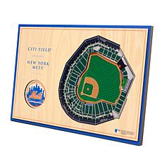 Officially-Licensed MLB 3-D StadiumViews Display - New York Mets