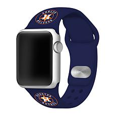 Officially Licensed MLB 38/40mm Apple Watch Band - Houston Astros