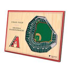 Officially-Licensed MLB 3D StadiumViews Display - Arizona Diamondbacks