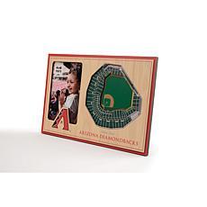 Officially Licensed MLB 3D StadiumViews Frame - Arizona Diamondbacks