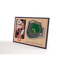 Officially Licensed MLB 3D StadiumViews Frame - Cleveland Indians