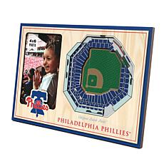 Officially Licensed MLB  3D StadiumViews Picture Frame - Phillies