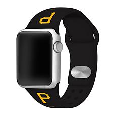 Officially Licensed MLB 42/44mm Apple Watch Band - Pittsburgh Pirates