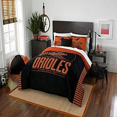 Officially Licensed MLB 849 Grand Slam F/Q Comforter Set - Orioles
