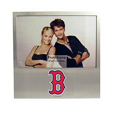 Officially Licensed MLB Aluminum Picture Frame - Boston Red Sox