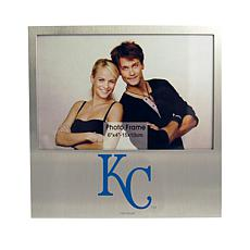 Officially Licensed MLB Aluminum Picture Frame - Kansas City Royals