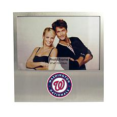Officially Licensed MLB Aluminum Picture Frame - Washington Nationals