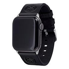 Officially Licensed MLB Apple Watch Leather Band 42/44mm - Houston