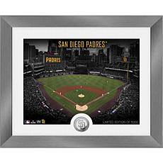 Officially Licensed MLB Art Deco Silver Coin Photo Mint - San Diego