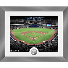 Officially Licensed MLB Art Deco Silver Coin Photo Mint - Tampa Bay