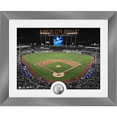 Officially Licensed MLB Art Deco Silver Coin Photo Mint - Kansas City
