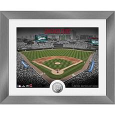 Officially Licensed MLB Art Deco Silver Coin Photo Mint - Chicago Cubs