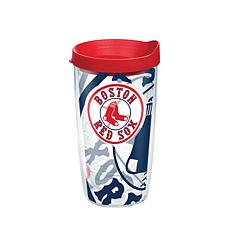 Officially Licensed MLB Boston Red Sox Genuine 16 oz. Tumbler with Lid