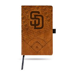 Officially Licensed MLB Brown Notepad - San Diego Padres