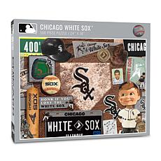 Officially Licensed MLB Chicago White Sox Retro 500-Piece Puzzle