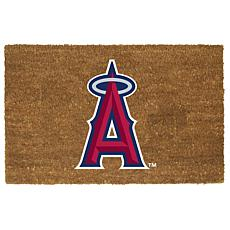 Officially Licensed MLB Colored Logo Door Mat - Angels