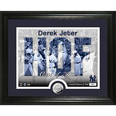 Officially Licensed MLB Derek Jeter 2020 HOF Acrylic Block