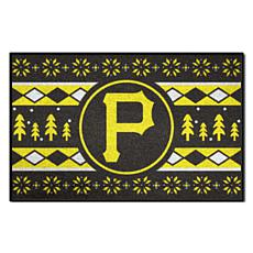 Officially Licensed MLB Holiday Sweater Mat - Pittsburgh Pirates