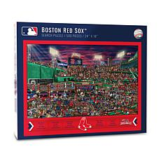 Officially Licensed MLB Joe Journeyman Jigsaw Puzzle - Boston Red Sox