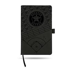 Officially Licensed MLB Laser-Engraved Notepad - Houston Astros