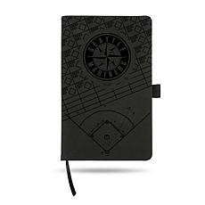 Officially Licensed MLB Laser-Engraved Notepad - Seattle Mariners