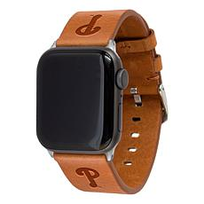 Officially Licensed MLB Leather Band for Apple Watch - Philadelphia