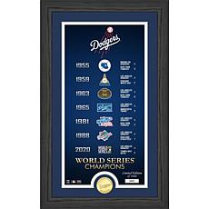 Officially Licensed MLB Legacy Supreme Bronze Coin Photo Mint Dodgers