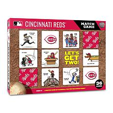 Officially Licensed MLB Licensed Memory Match Game - Cincinnati Reds