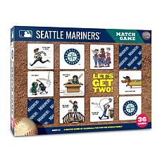 Officially Licensed MLB Licensed Memory Match Game - Seattle Mariners
