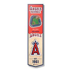 Officially Licensed MLB Los Angeles Angels 3D Stadium Banner