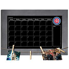 Officially Licensed MLB Monthly Chalkboard - Chicago Cubs